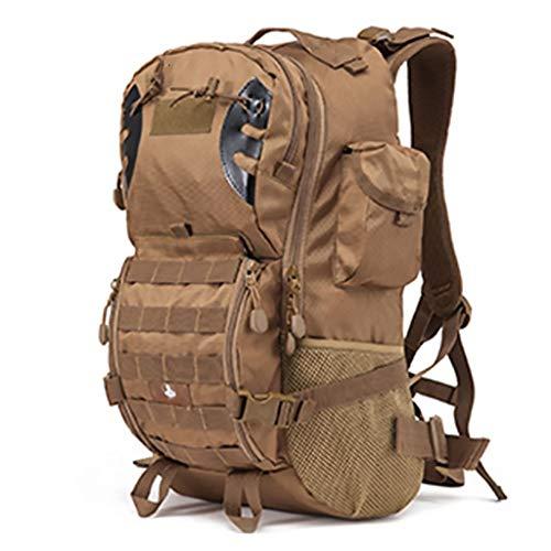 Zaino Hiker Expedition impermeabile 45L confortevole traspirante sport all'aperto alpinista escursionismo (B,52 x 38 x 26 cm)