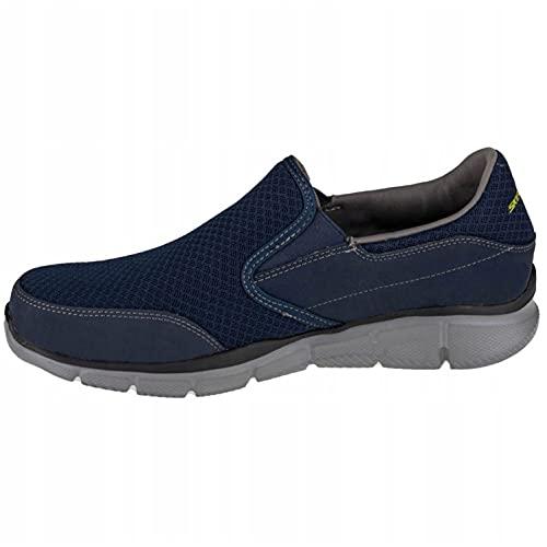 Skechers Equaliser Persistent Men's Sneakers - Blue (Nvgy - Navy Grey), 9.5 UK