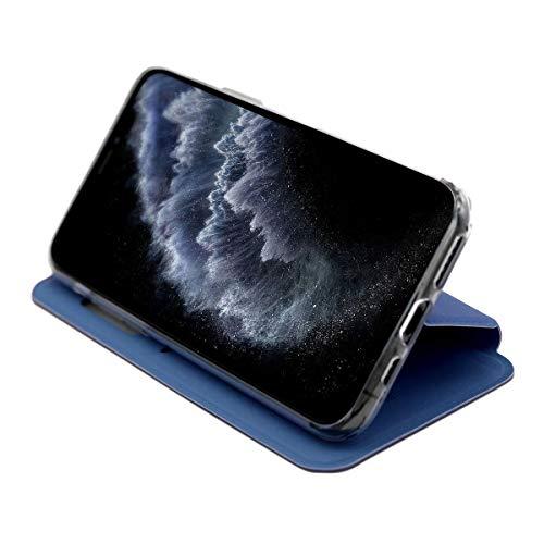 1001coque - Funda con tapa para Huawei P Smart 2020, color azul