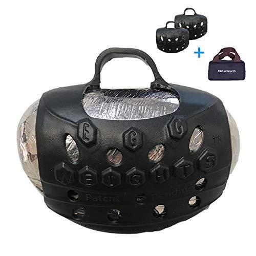Egg Gewichte Hand Hantel-Sets für Damen und Herren (jedes Gewicht ist die Hälfte der Gesamtgewicht)