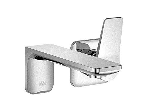 Dornbracht Waschtisch Wand-Einhebelmischer ohne Ablaufgarnitur Lisse 36810845 Chrom, 36810845-00