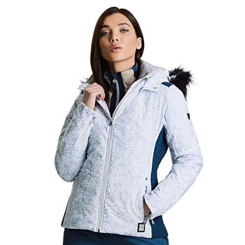 Dare 2b Providence Damen Skijacke, wasserdicht und atmungsaktiv, isoliert XS weiß
