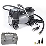 12V DC Air Pump for Car Tires with Auto Shut Off Function + 120 Max PSI by Energizer