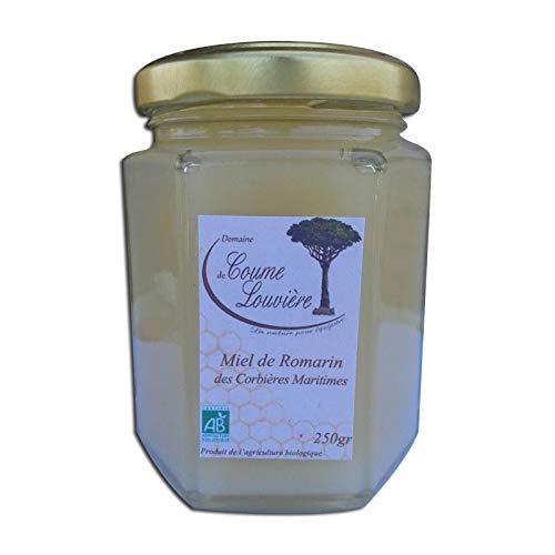 Miel Bio de romarin des Corbières Maritimes 250 g