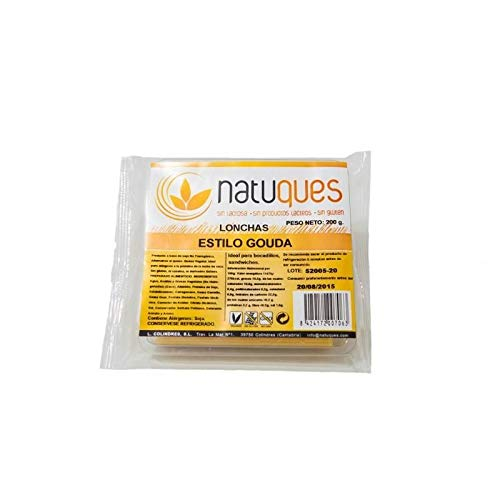 Queso Lonchas Gouda Natuques, 200 g