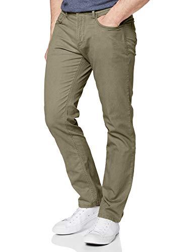 Camel Active Herren 488325 Loose Fit Jeans, Grün (Green 32), W42/L32 (Herstellergröße: 42/32)