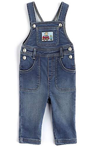 Sigikid Latzhose Jeans Denim Unisex Baby 212-indigo (74)