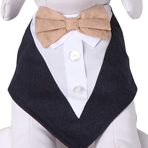 Tail Trends Peanuts Neck Tie Formal Dog Tuxedo Bandana
