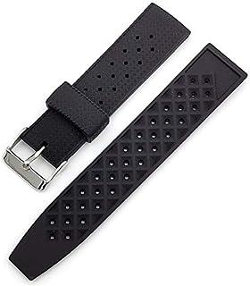 TROPIC-Style Vintage 60's, cinturino per orologio da polso in silicone, 20-22 mm, qualità premium