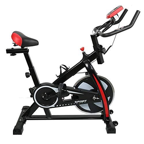 NBALL-TT Cubierta Ciclo De La Bici Bicicleta Estacionaria Ejercicio Gimnasio En Casa Equipamiento Bicicletas con Pantalla LCD Profesional De Bicicletas Trainer Complementos De Equitación