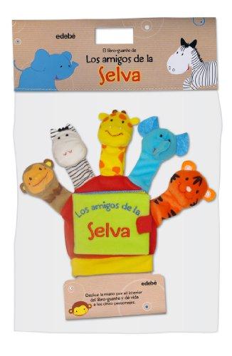 Mis Amigos De La Jungla (Libros para bebés)