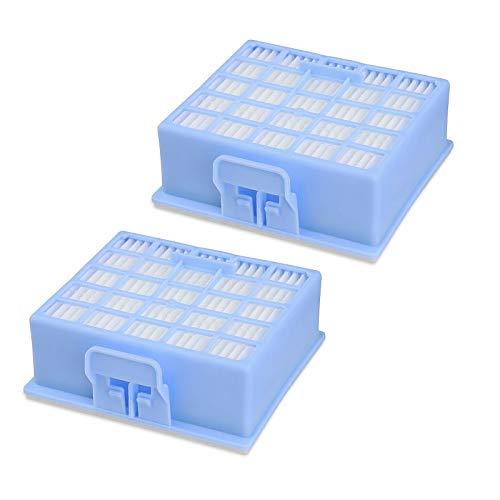 2 Stück Hepafilter Filter passend für Bosch Siemens VS VZ BSG BX BBZ 00578731 VZ153HFB
