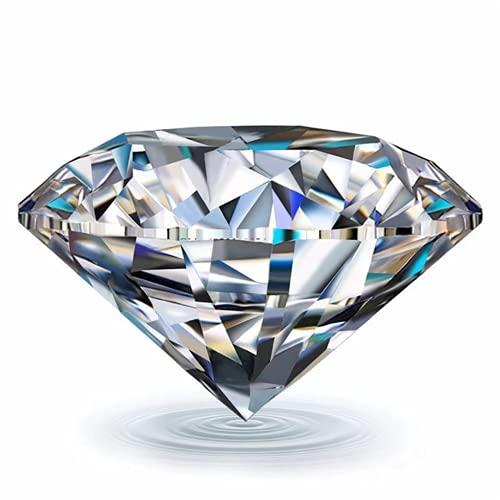 Wuluwala Personalización del anillo de bodas anillo de diamantes Moissan D color 3EX corte Moissan diamante piedra suelta 18K oro personalizado 925 plata personalizado