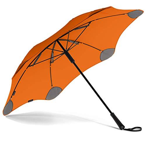 MLL Paraguas Parasol Creativo de Mango Largo, Viajes para Hombres y Mujeres, a Prueba de Viento Grande, protección UV/Lluvia