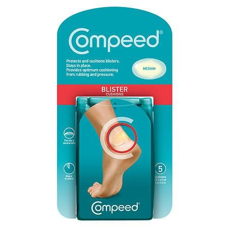 Compeed Blister Plasters Medium - 5 Plasters - PACK OF THREE