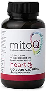 Sponsored Ad - MitoQ Heart Premium CoQ10 Antioxidant - Contains Magnesium, L-Carnitine & Vitamin D3 - Supports Circulatory...