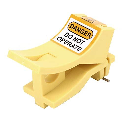 Bloqueo de disyuntor en miniatura, bloqueo de seguridad MCB resistente estable para bloqueo de disyuntor para fábrica para componentes electrónicos para uso general