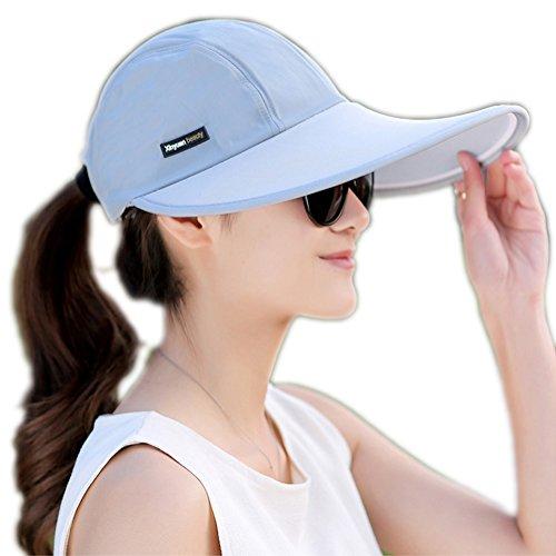 Outdoor Recreation Sports Anti UV Sun Hat Wide Brim Baseball Cap Large Sun Visor