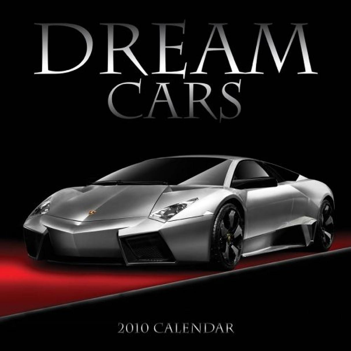邪悪な媒染剤有限Dream Cars 2010 Wall Calendar