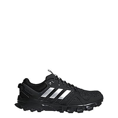 adidas Men's Rockadia m Trail Running Shoe, Core Black/Matte Silver/Carbon, 12 M US
