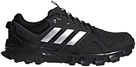 adidas Men's Rockadia m Trail Running Shoe, Core Black/Matte Silver/Carbon, 11 M US