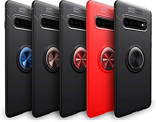 Wephone Accesorios Funda TPU con Anillo (Samsung S21 Ultra, Azul)
