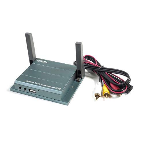 ビートソニック インターフェースアダプター Miracast AirPlay/HDMIとRCA同時変換 IF30