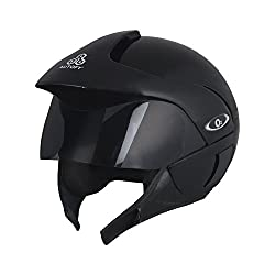 Autofy O2 Full Close Helmet (Black, M)