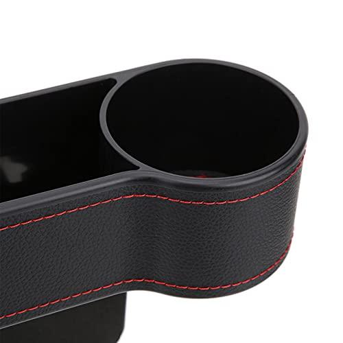 Okuyonic Caja de Almacenamiento para automóvil no tóxica e insípida Resistente al Desgaste y Antideslizante Estabilidad Fuerte Tazas de té multifuncionales para teléfonos móviles(Black co-Pilot, 12)