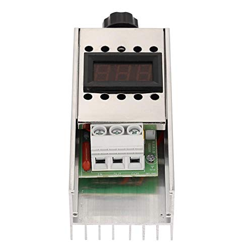 AC 220V 10000W SCR Regulador de Voltaje Eléctrico de Alta Potencia Regulador...