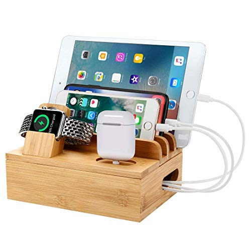 WYZQ 6 in 1/3 in 1 Charging Docks Station Stand Fit Apple Series 4/3/2/1 for Airpod Phone Holder for Iphone Charger for Apple