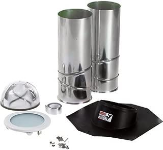 ODL Tubular Skylight Kit - 10in.L x 10in.W x 48in.H, Composite, Model# EZ10SCANH