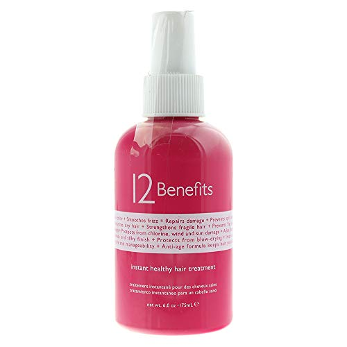 12 Benefits Instant Healthy Hair Treatment, 6 oz by 12 Benefits