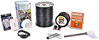 Electric Dog Fence™ PetSafe YardMax Containment System Professional Grade Complete DIY Installation Kit (1/4 to 1/3 Acre Coverage Area) (1 Dog Kit)