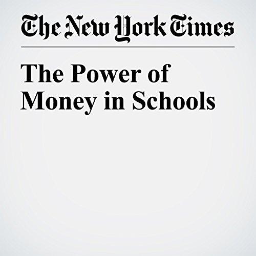 The Power of Money in Schools audiobook cover art