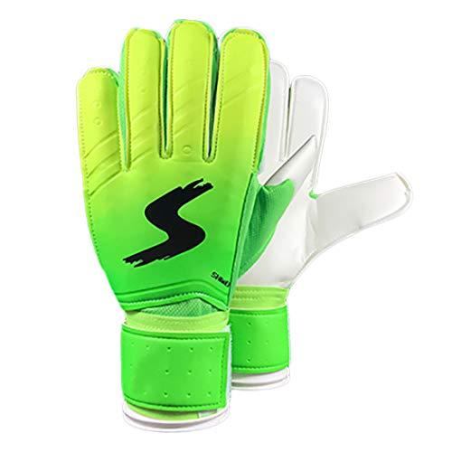 Zoylink Goalkeeper Gloves Fingersave Unisex Goalie Gloves Soccer Keeper Gloves