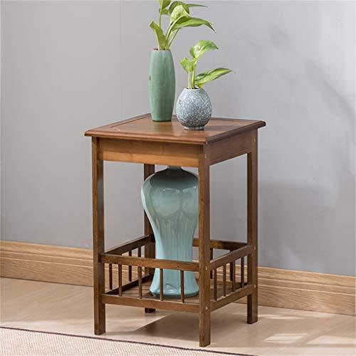 G-HJLXYZWJHOME Huishoudtextiel, telicoon tafel, massief hout, café, opbergen, tafel, papierrek