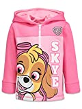 Paw Patrol Skye Toddler Girls Fleece Half-Zip Sweatshirt Pullover Hoodie Pink 4T