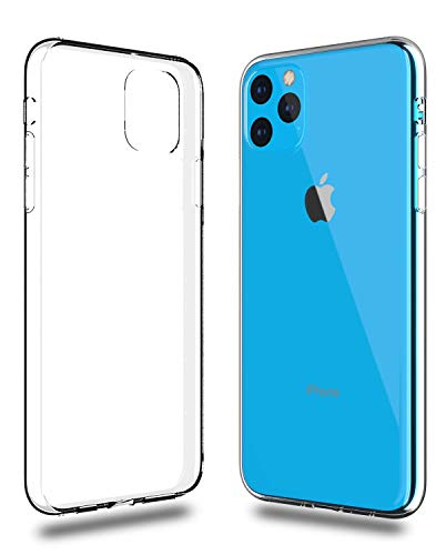 C63® Coque en gel transparent pour iPhone 11 PRO