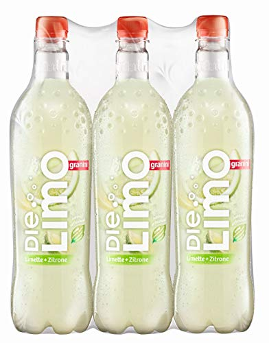 Die Limo Original Limette-Zitrone PET, 6er Pack, EINWEG (6 x 1 l)