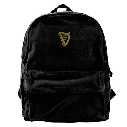 Daypack Travel Backpack Bookbag Guinness Unisex Backpack, Drawstring Shoulder Bag, Backpack, Pocket Pocket Canvas, Bag Bag, Travelling Bag.