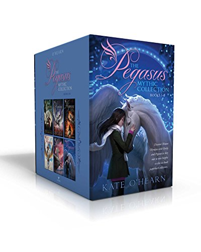 The Pegasus Mythic Collection Books 1-6: The Flame of Olympus; Olympus at War; The New Olympians; Origins of Olympus; Rise of the Titans; The End of Olympus