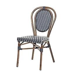 Chaise bistrot OLIV en polyrotin