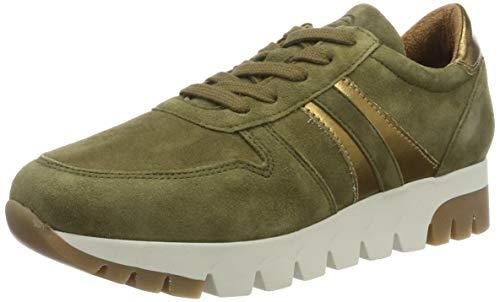 Tamaris Damen 1-1-23741-23 Sneaker, Grün (Olive/Bronce 715), 36 EU