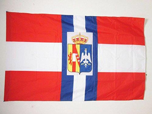 AZ FLAG Drapeau Duché de Modène de Guerre 1452-1859 150x90cm - Drapeau Italien Ancien - Italie 90 x 150 cm Fourreau pour hampe