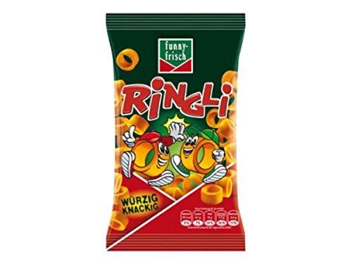 funny-frisch Ringli Paprika, 24er Pack (24 x 35 g)