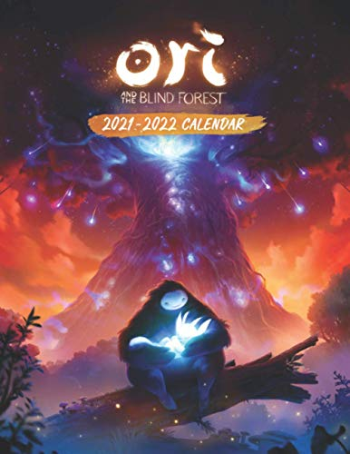Ori and the Blind Forest: 2021 – 2022 Games Calendar – 18 months – 8.5 x 11 Inch High Quality Images