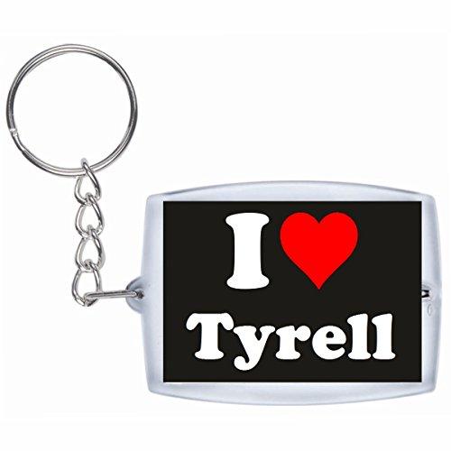 EXCLUSIVO: Llavero 'I Love Tyrell' en Negro, una gran idea...