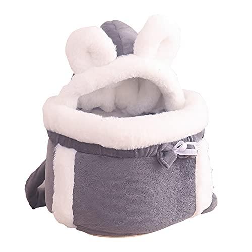 Bolsa para mascotas PET DOG CAT HOUSE HOUSE PUPPY KITTER Carrier Mochila Bolso de viaje al aire libre Portátil Portátil Cálido PET PORT PORTANSA BOLSOS DE PET Supplies ( Color : Pink , Size : 20-30g )