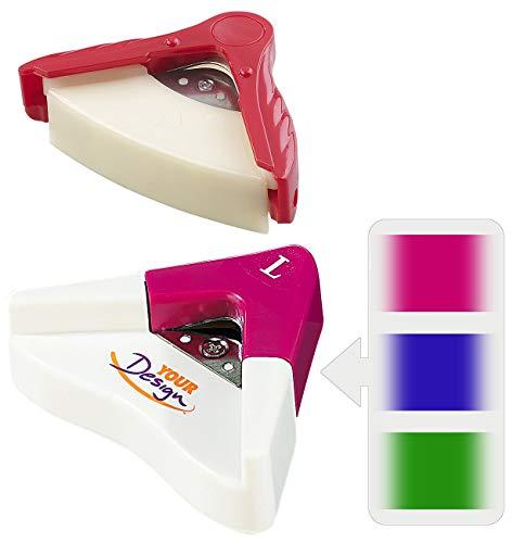 Your Design Eckenrunder: Corner Cutter Radiusschneider, 2er-Set 5 mm und 10 mm (Eckenstanzer)